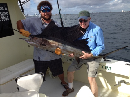 Bill Catch Sail fish