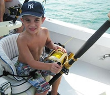 kid to enjoy deep-sea fishing