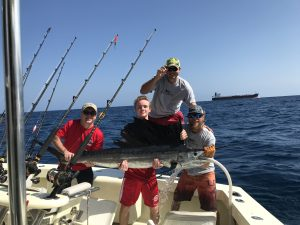 Catching Sailfish